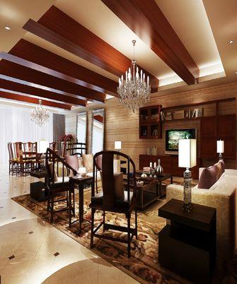 120平米三室一厅中式风格客厅装修案例