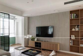80平米三室三厅日式风格客厅图片