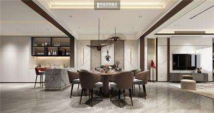 140平米别墅现代简约风格餐厅装修图片大全