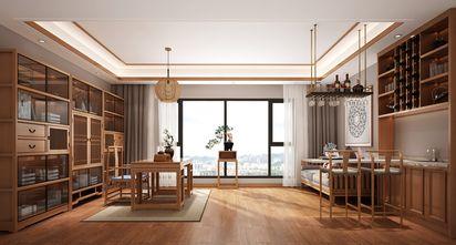 140平米三室一厅中式风格影音室效果图