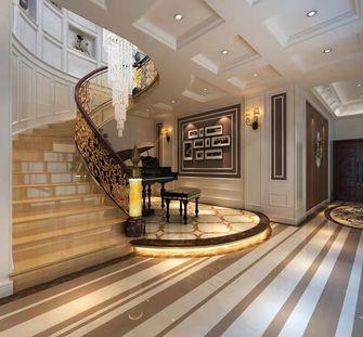 100平米三室三厅美式风格楼梯间装修案例