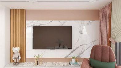 90平米一室一厅现代简约风格客厅图片