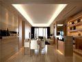 140平米三室两厅日式风格餐厅效果图