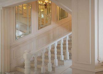 140平米三室两厅法式风格楼梯间欣赏图