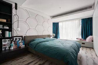 140平米四室两厅英伦风格卧室图片大全