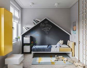 140平米三室两厅英伦风格儿童房图