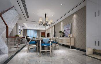 140平米别墅新古典风格餐厅图