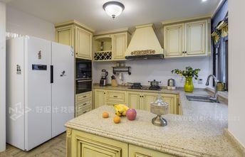 140平米复式田园风格厨房图