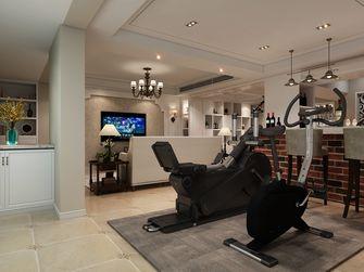 130平米复式美式风格健身室图片