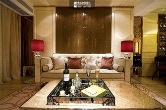 140平米四室三厅现代简约风格客厅沙发装修案例