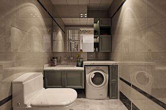 90平米一居室田园风格卫生间装修案例