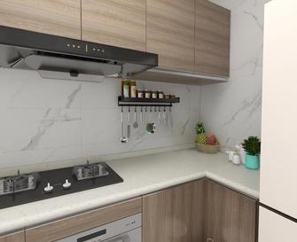 120平米三室两厅现代简约风格厨房图片大全