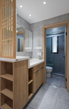 110平米三室兩廳日式風格衛生間欣賞圖