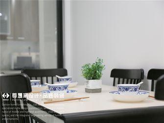 80平米新古典风格餐厅图片
