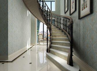 140平米复式欧式风格楼梯间图片大全