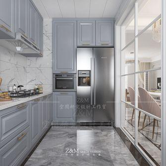 110平米三室两厅法式风格厨房装修效果图