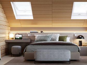 140平米复式日式风格卧室图