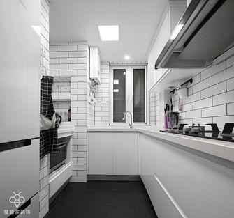 130平米三室两厅北欧风格厨房设计图