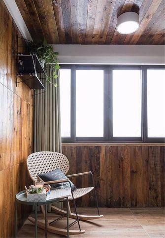 100平米三室一厅其他风格阳台图片大全