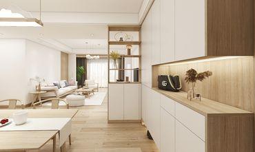 120平米三室两厅日式风格走廊设计图