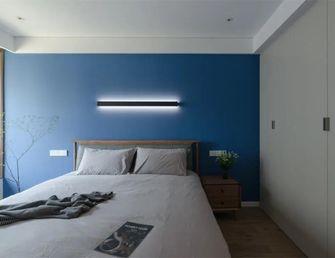 130平米四室两厅现代简约风格卧室欣赏图