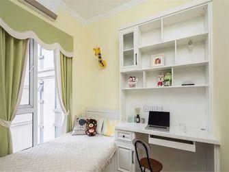 80平米三室一厅田园风格卧室欣赏图