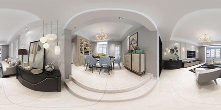 130平米四室四厅美式风格客厅图