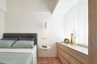 60平米一室一厅田园风格卧室图片大全