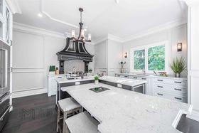 140平米別墅歐式風格廚房裝修效果圖
