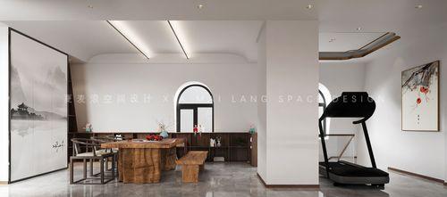 140平米四中式风格健身室装修效果图