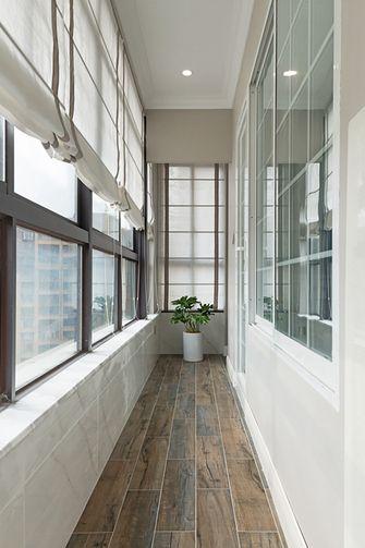140平米三新古典风格阳台装修图片大全