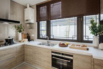100平米三室一厅中式风格厨房欣赏图