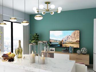 90平米一室一厅北欧风格客厅设计图