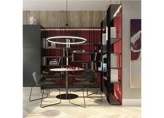 50平米一居室混搭风格餐厅效果图