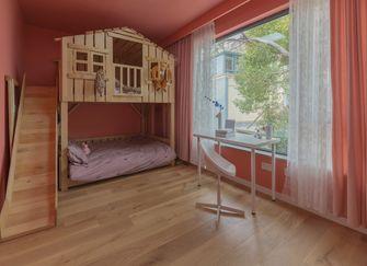 140平米别墅混搭风格儿童房图片大全