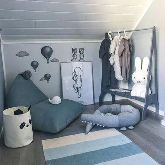 30平米超小户型混搭风格儿童房装修案例