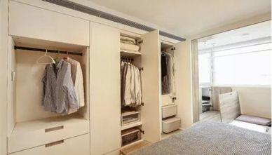 50平米三室两厅日式风格衣帽间设计图