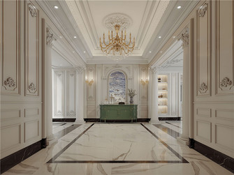 140平米别墅法式风格走廊图
