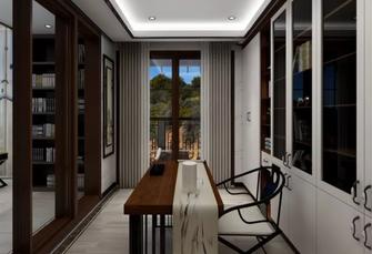 140平米四中式风格书房图片
