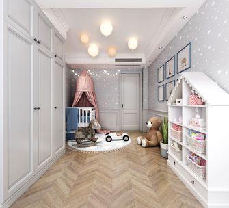 120平米三室三厅美式风格儿童房图片大全
