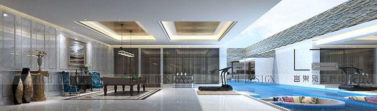 140平米别墅混搭风格阁楼装修案例