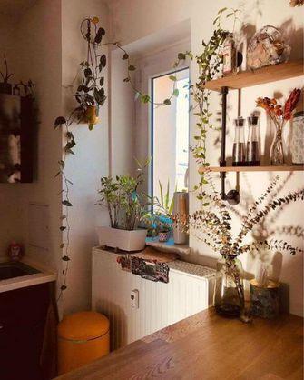 80平米一室一厅田园风格厨房装修案例