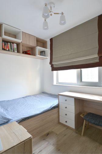 80平米三室两厅日式风格卧室效果图