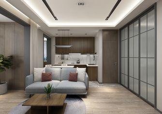 60平米公寓现代简约风格厨房设计图