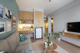50平米一室一厅北欧风格客厅图片