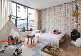 140平米复式北欧风格儿童房欣赏图