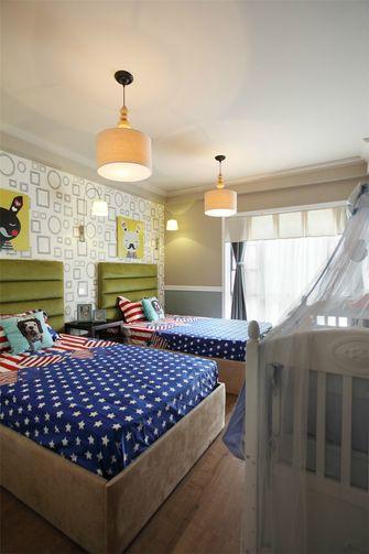 110平米现代简约风格儿童房装修图片大全