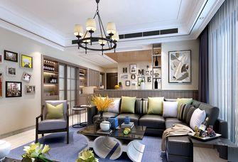 120平米四室两厅其他风格客厅效果图