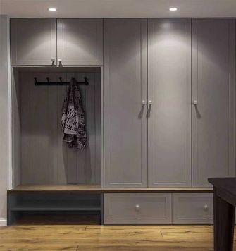 110平米三室两厅混搭风格衣帽间设计图