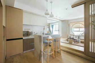 60平米一室两厅日式风格厨房装修图片大全